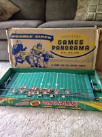 Vintage double sided Games Panorama