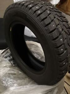 Set of 4 Winter Tires *without rims*