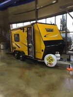 2012 **ULTRA LIGHT** Toy hauler 6x14