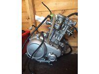 Yamaha yzf r125 engine good runner