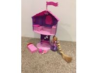 Disney Rapunzel Tower Snow White Cottage Frozen Castle Magiclip My Little Pony