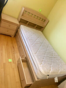 6 pieces- twin bed set