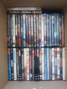 92 dvds in cases