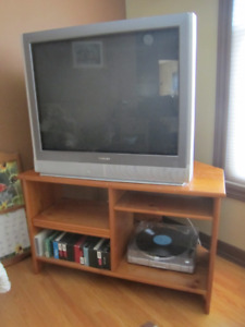 2 TVs, DVD player, VHS player for best offer