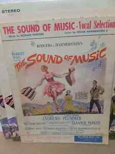 SOUND OF MUSIK RECORD LP, SHEET MUSIK & STORY BOOK London Ontario image 3