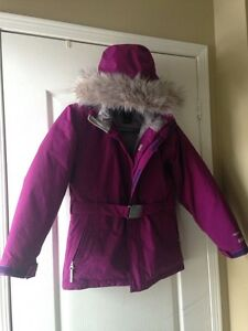 Youth Girls North Face Hyvent 550 Coat
