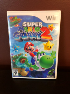 Wii Game - Super Mario Galaxy 2