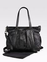 Burberry Black Check Jacquard Diaper Bag