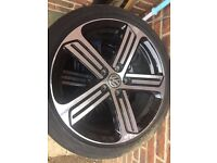 VW GOLF ALLOYS set of 4 mk7 mk6 mk5 GTI GTD R