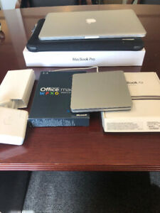 "Late 2012 MacBook Pro 15.4"" 2.3/8gb/256gb Flash (Inc Superdrive)"