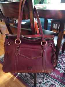 Large Dooney and Bourke Smith Bag Deep Red