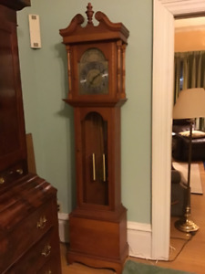 Greandfather Clock - Natural Pine Finish
