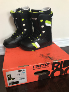 RIDE Men's Snowboard Boots Size 10