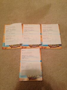 4 tickets to Canada's wonderland ONLY $50