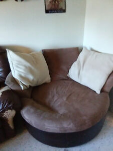 Big round comfy chair