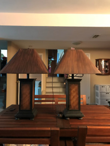 End table lamps(Living room)