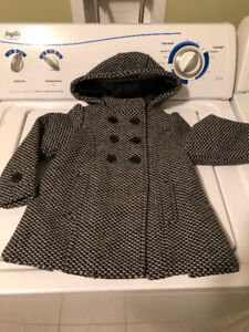 Size 2T Girl's winter Coat