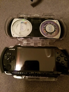 PSP, Games, and Case