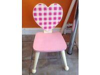 Child wooden chair