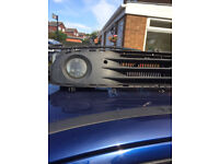 Vauxhall Corsa c front fog lights with bumper grill