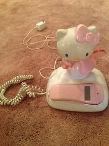 Light Up Hello Kitty Home Phone with Caller ID