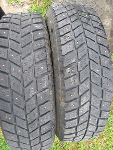Two Used Tires