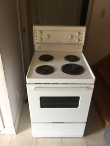 24 inch  frigidaire apartment size stove for sale