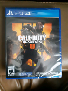 Call of Duty black ops 4 ps4 (unopened)