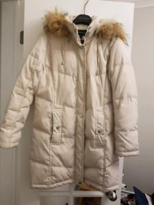 Winter down coat, women, size S