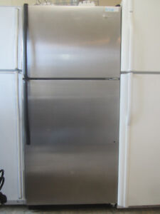 Refrigerators : Stainless/white/black/almond warranty/delivery