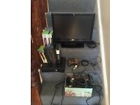 Xbox 360, 14 games and TV VGC