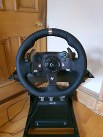 Logitech Steering Wheel + pedals + stand