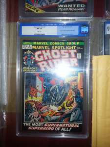 REDUCED  SELLING MY COLLECTION OF COMIC BOOKS GRADED AND RAW