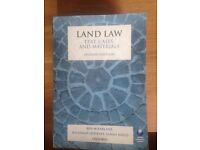 Land law, text cases and materials