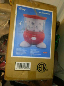 Back to Basics Disney Ice Cream Maker BNIB