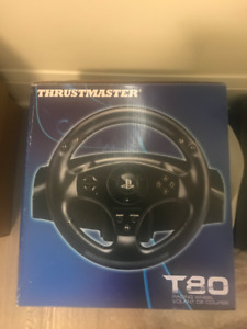 BRADN NEW* Thrustmaster T80 Racing Wheel for PS3/PS4