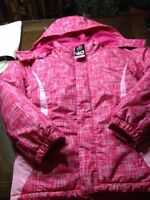NEW with tags on. Girls Size Medium 3-1 winter Jackets