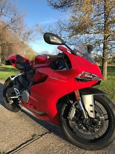 DUCATI 899 PANIGALE ROUGE 2014