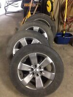 """Ford 20"""" rims and tires"""
