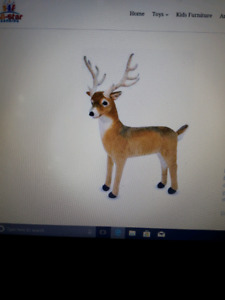 WANTED X-large stuffed deer