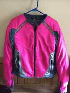 Woman's Icon Anthem Mesh Motorcycle Jacket