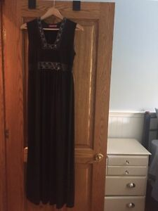 Maternity evening gown