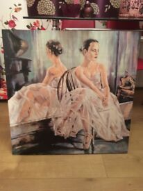 Ballerina canvas large.