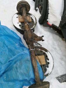 mustang II 4 bolt rear end