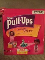 Pull-Ups for Girls size 4T-5T 56 count