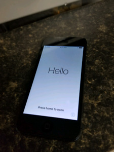 Iphone 5 BELL 16 gb