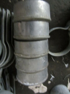 Galvanized Chain Link Fence 6 Foot High 27.5 Feet + Accessories Kitchener / Waterloo Kitchener Area image 5