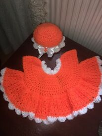 Handmade dress & hat