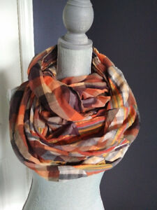 Fall colours scarf from Zara