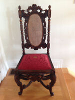 Very antique wood chair